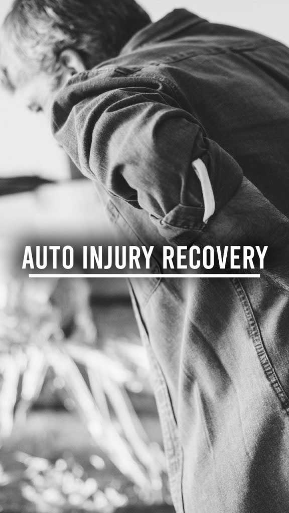 auto injury recovery narrow