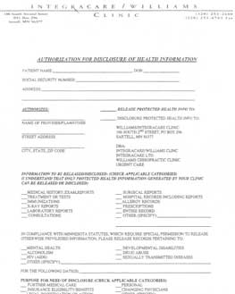 Incoming Patient Form