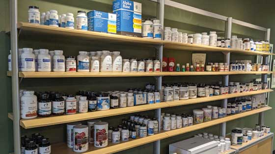 supplements at Williams Integracare