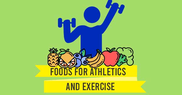 Foods for Exercise Banner