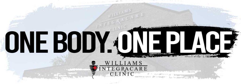 Williams Integracare Website Header