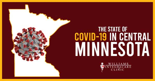 State of COVID-19 Central Minnesota