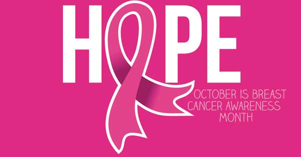 Hope October is Breast Cancer Awareness Month