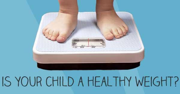 healthy weight for children