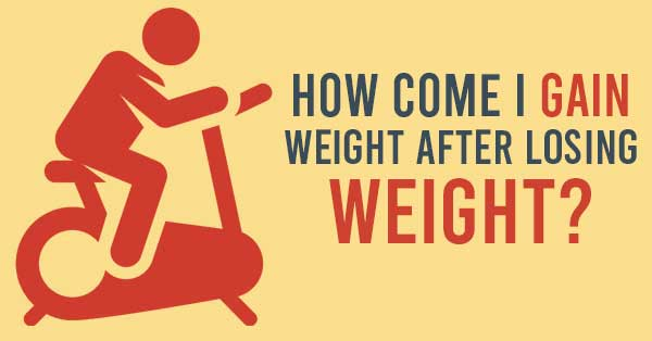 weight gain after losing weight