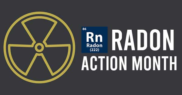 radon action month is january