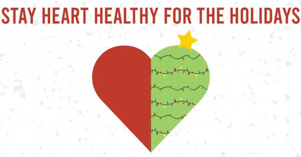 stay heart healthy for the holidays