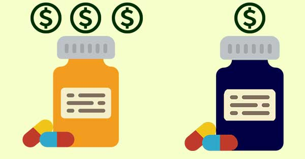 prescription vs generic drugs