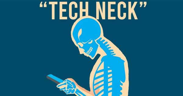 tech neck in teens