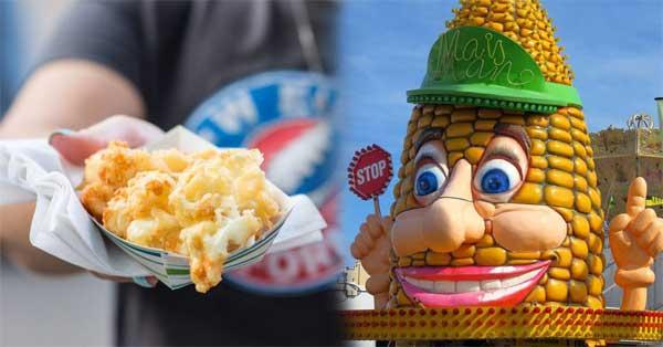 best and worst fair food benton county fair minnesota