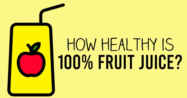 100% fruit juice