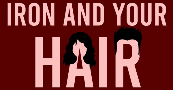 iron and your hair