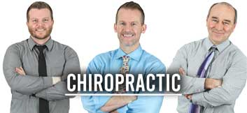 chiropractic team at williams integracare