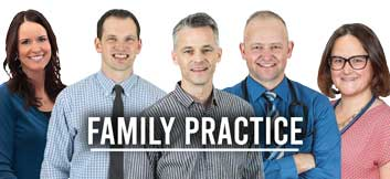 family practice team at williams integracare