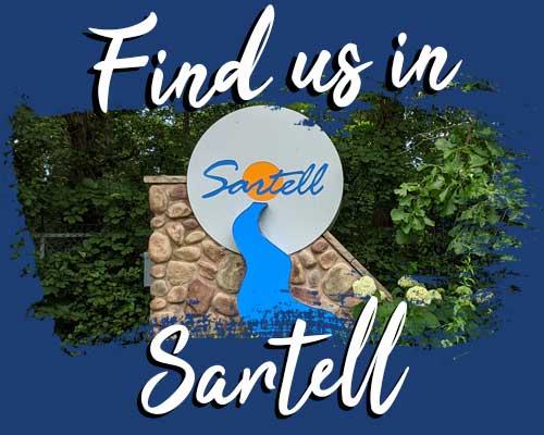 find us in sartell