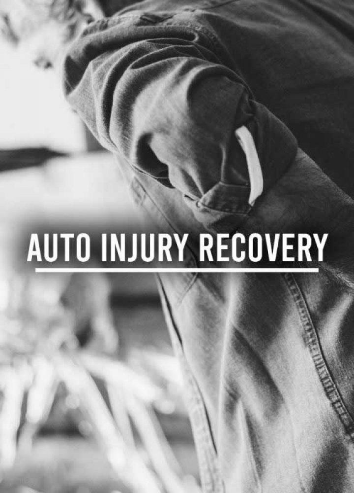 auto injury recovery narrow