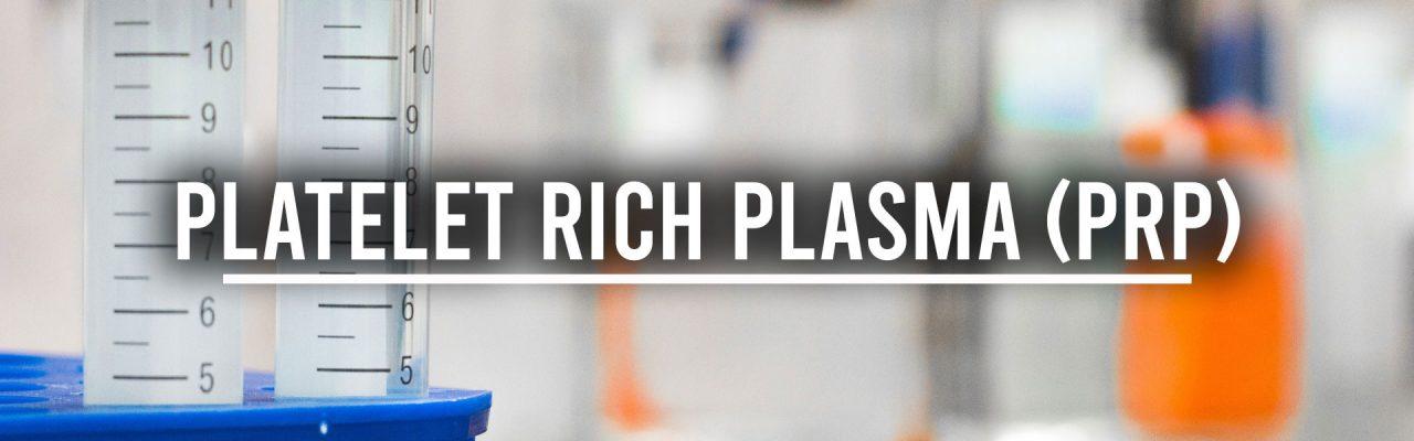 platelet rich plasma page banner